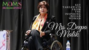 Key Takeaways from The Inspiring Indian Woman- Mrs Deepa Malik