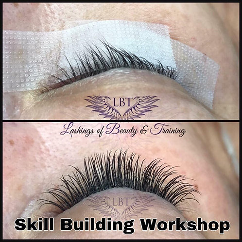 Lash Skill Building Workshop - ADVANCED TECHNIQUES