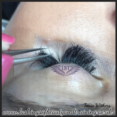 Russian Volume Eyelash Extensions Course