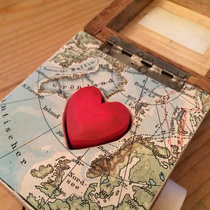 Kleine Herzklopfmaschine