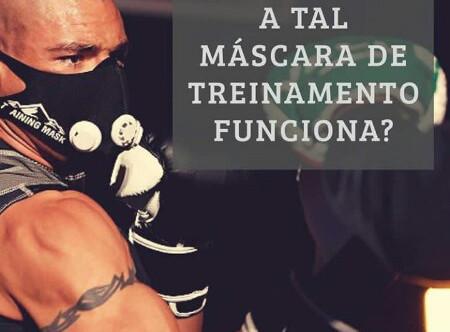 Treinar com máscara. Benefícios?