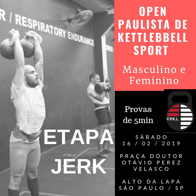 Etapa Jerk Open Paulista 2019