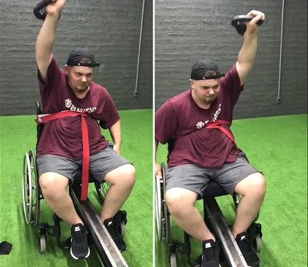 Cadeirante ou portador de necessidade especial pode e deve treinar sim!
