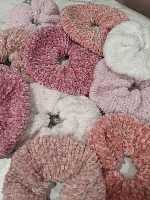 Plush   Soft Knit Scrunchies