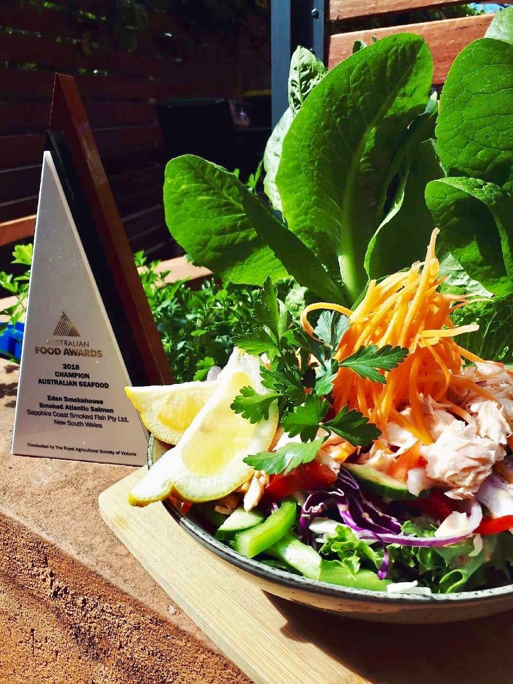 Smoked Atlantic Salmon Salad