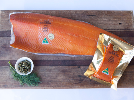 Showcasing local, award-winning smoked Atlantic salmon