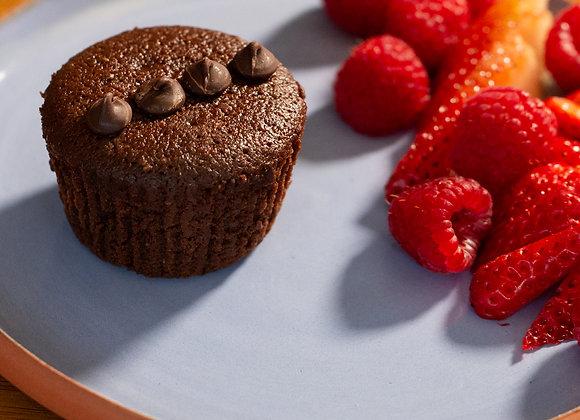 Dark Chocolate Chia Espresso Muffins