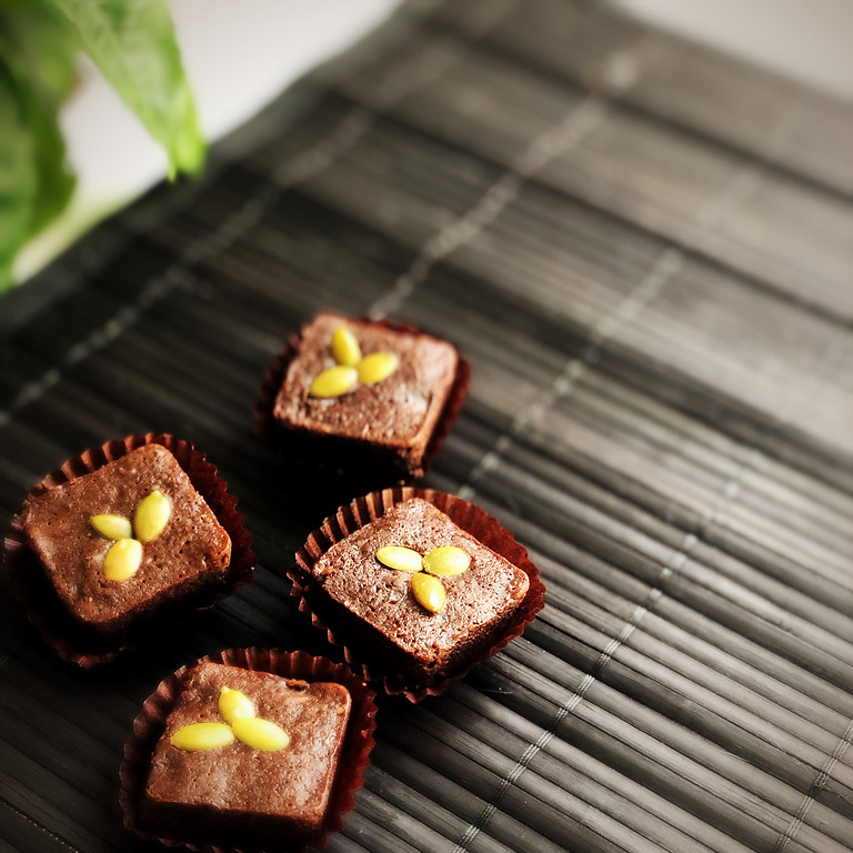 Dark Chocolate Broccoli Brownies!