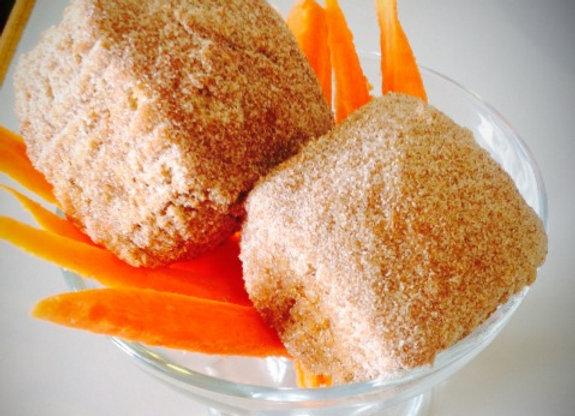 Cinnamon Spice Carrot-Amaranth Muffin