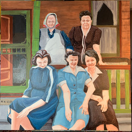 """The Ladies of McKees Rocks c.1945"""