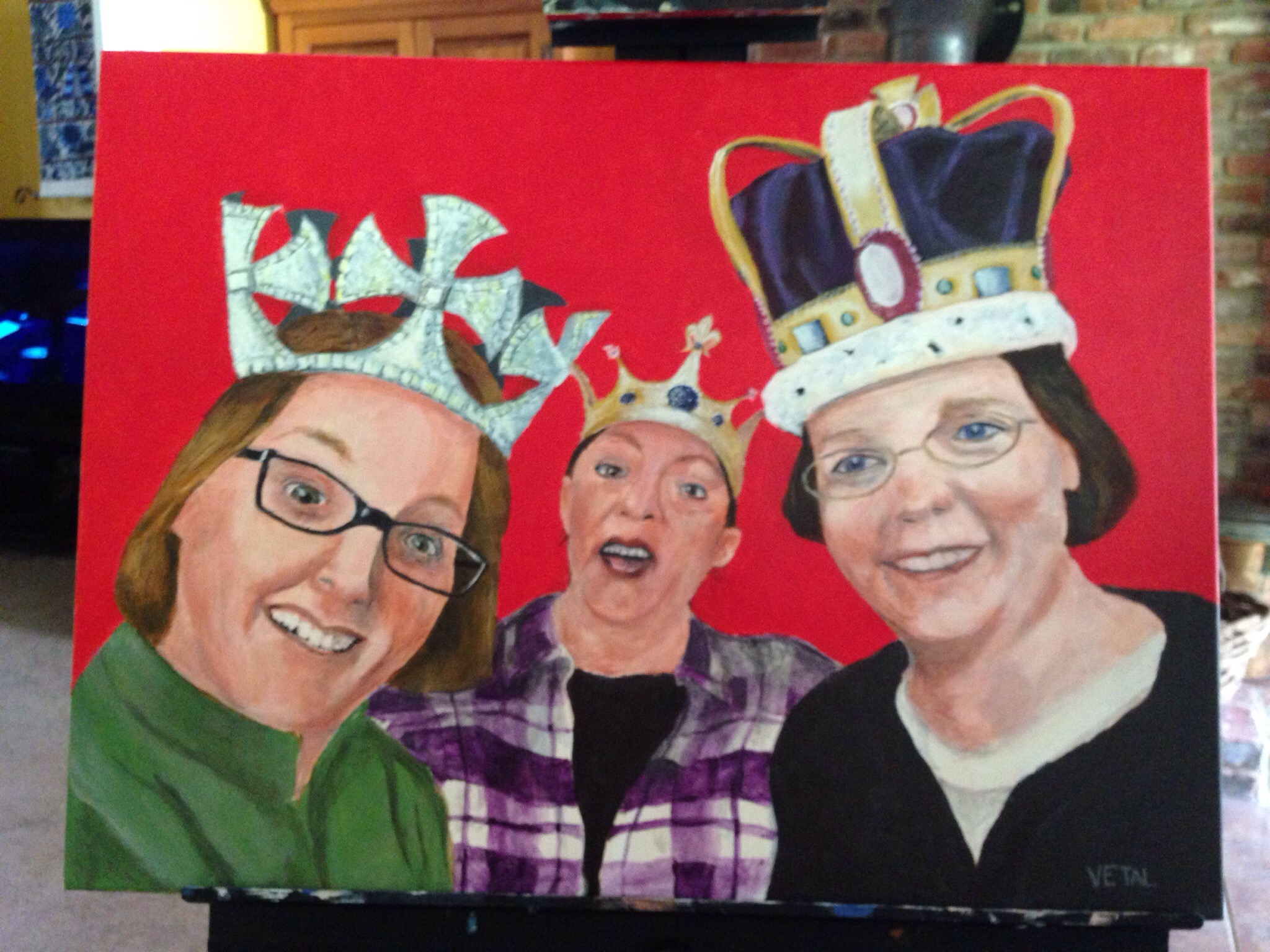 Everyone is a Queen, 16x20 in.