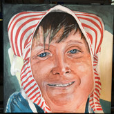 Traditional Headress, 12x12 in.