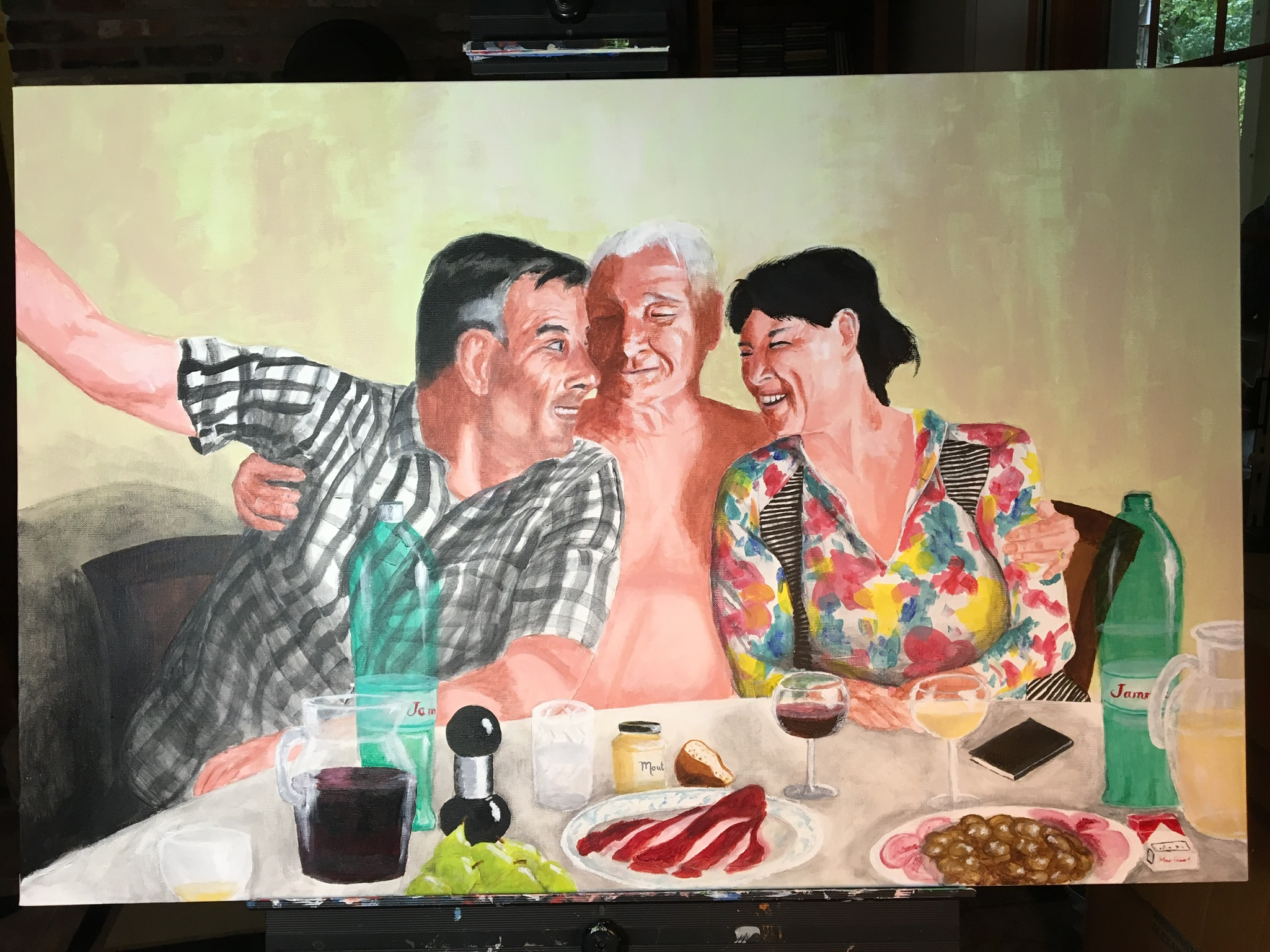 Croatia Reunion, 24x36 in.