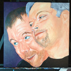 Dave and Don, 12x12 in.