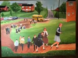 St. Agnes School c, 1966, 24x32 in.