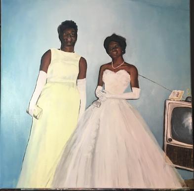 Prom Night 1964, 24x24 in.