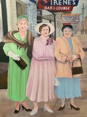 """""""Irene and the Sisters - East Liberty c.1955"""""""