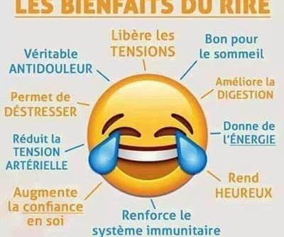 Les bienfaits du rire sur notre santé !