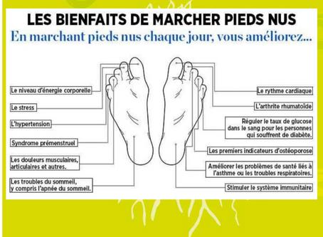 Et si l'on marchait plus souvent pieds nus ?