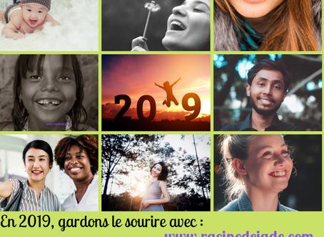Je vous souhaite une très belle année avec le sourire de l'an neuf !