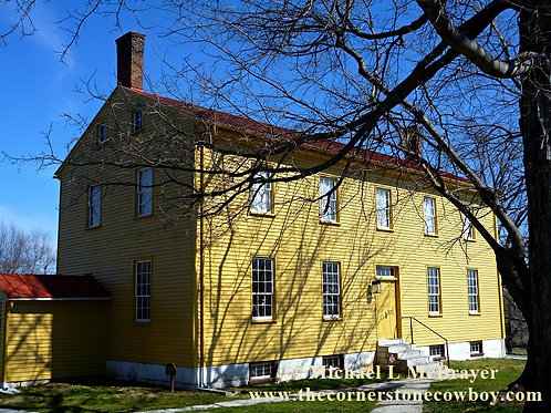Shaker Sewing Shop, Historic Structure Photography