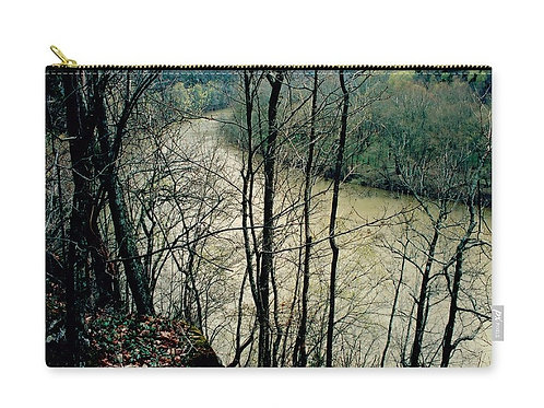 View of the Kentucky River at Raven Run, Zip Carry Pouch