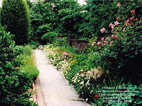 Gravel Walkway through Ashland Garden, Henry Clay Estate Photo