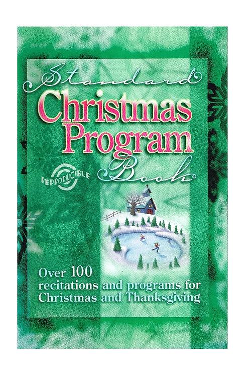 Standard Christmas Program Book, Reproducible Paperback