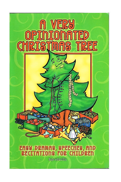 A Very Opinionated Christmas Tree, Reproducible Paperback