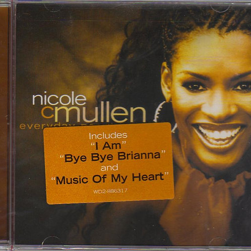 Nicole C Mullen, Everyday People Music CD, Original Factory Seal