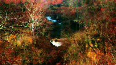 Clifty Falls Abstract Impressionism