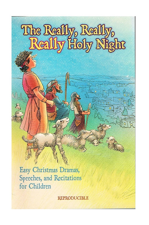 The Really, Really, Really Holy Night, Reproducible Paperback