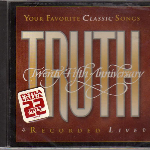 Truth, 25TH Anniversary, Vintage Music CD, Original Factory Sealed CD Case