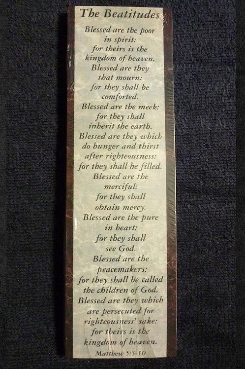 Bookmark Beatitudes, Pack of 25