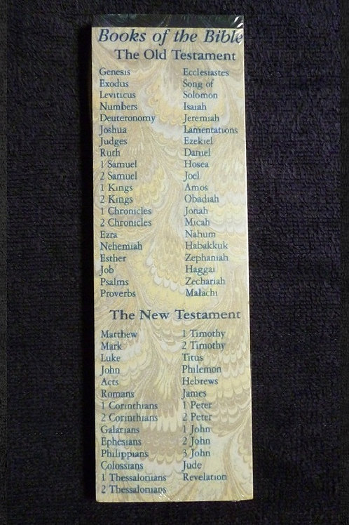 Bookmark Books of the Bible, Pack of 25