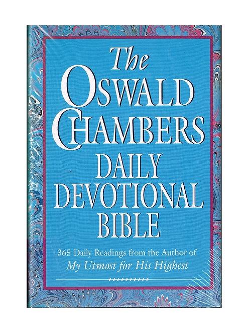 Oswald Chambers Daily Devotional Bible, Hardback
