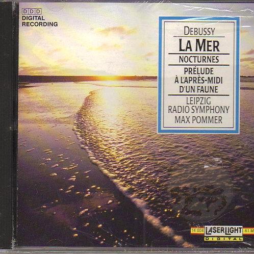 Claude Debussy La Mer Nocturnes, Music CD Factory Sealed