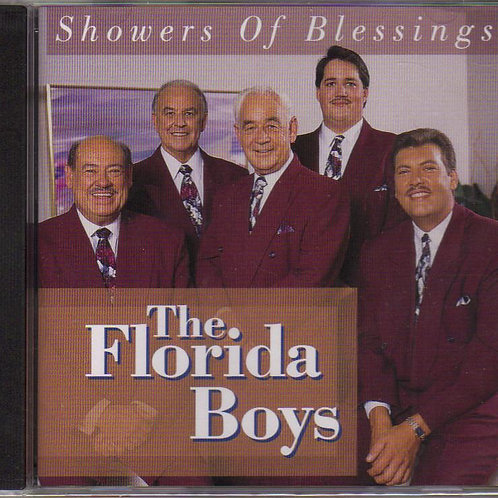 The Florida Boys, Showers of Blessings, Vintage Music CD, Original Factory Seale
