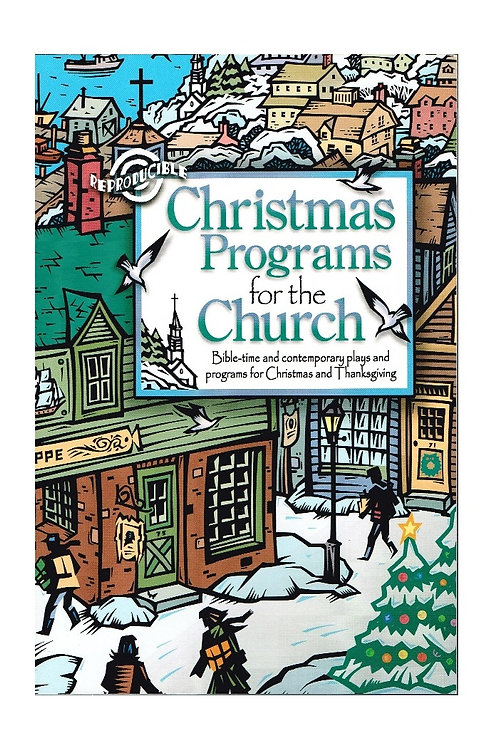 Christmas Programs for the Church 08622, Unused Paperback, Reproducible Plays