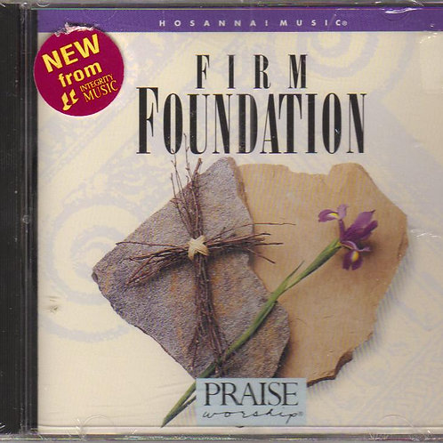Hosanna Music, Firm Foundation, Music CD Factory Sealed