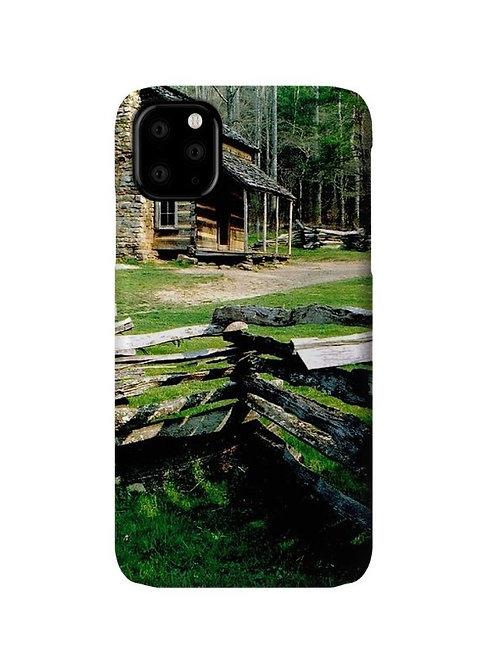 Log Cabin at Cades Cove, iPhone 11 Slim Case