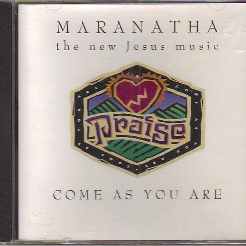 Maranatha Come As You Are, Music CD Factory Sealed