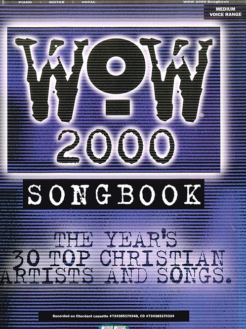 Wow 2000 Songbook