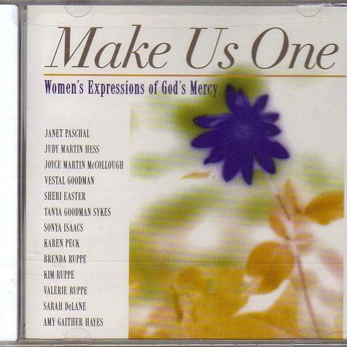 Make Us One, Womens Expression of God's Mercy, Music CD, Factory Sealed