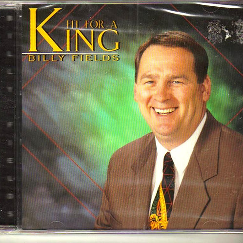 Billy Fields, Fit For A King, Music CD Factory Sealed