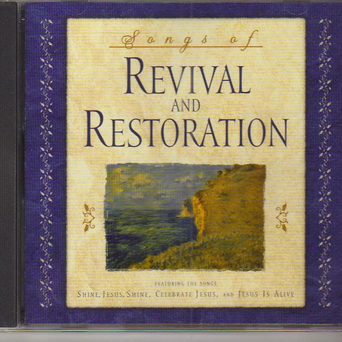 Songs of Revival and Restoration, Music CD Factory Sealed