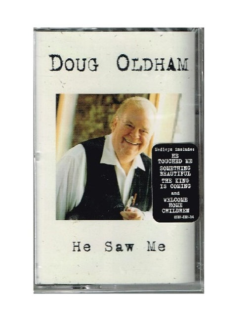 Doug Oldham He Saw Me Music Cassette, Original Factory Sealed Wrap