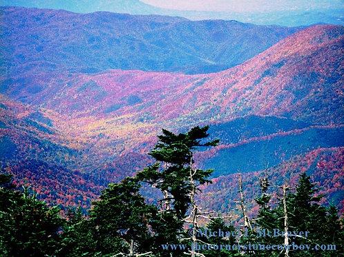 Smoky Mountains Sunset, Landscape Photography