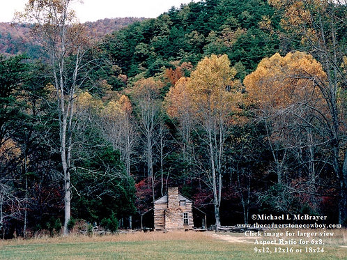 Cades Cove Cabin, Historic Structure Photo
