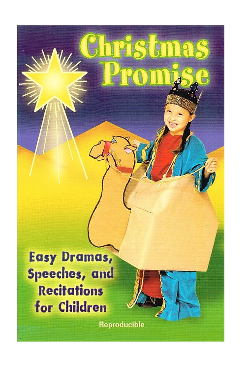 Christmas Promise, Easy Reproducible Christmas Dramas, Paperback